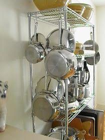 Good Things by David: Metro Shelving Kitchen Shelves, Kitchen Pantry, Kitchen Items, New Kitchen, Kitchen Storage, Kitchen Decor, Bakery Kitchen, Studio Kitchen, Restaurant Kitchen