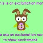 This interactive ActivBoard flipchart teaches & reviews the basic punctuation (period, question marks, exclamation marks) and meets kindergarte...