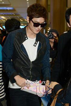 Lee Min Ho - Back to South Korea