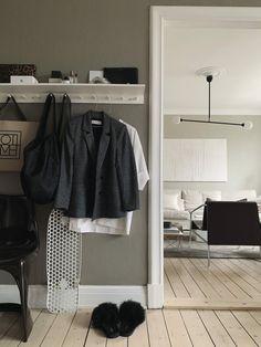 Sundling Kickén - Part 4 Small Hallway Decorating, Home Bedroom, Bedroom Decor, Style Sheet, Small Hallways, Beautiful Home Designs, Apartment Interior, Decoration, Interior Inspiration