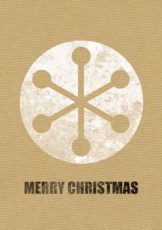 Retro modern Christmas design via @PaperAcrobat