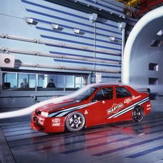 The 155 was never a truly great road going Alfa Romeo.  But in DTM and BTCC forms, it was probably the last great racing car the company fielded.