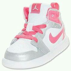 2febd0328dd1 The Girls  Toddler Jordan 1 Mid Flex Shoe brings new flavor to the old  school style with enhanced comfort features