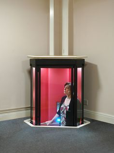 Terry Lifts have developed the elegantly styled Lifestyle home elevator using the latest technological advances. Our space saving home lift combines quality, practicality and comfort to make your life that little bit easier. Perfect for the superhero or villain in everyone! Personally I'd prefer mine designed like Dr. Who's Tardis.