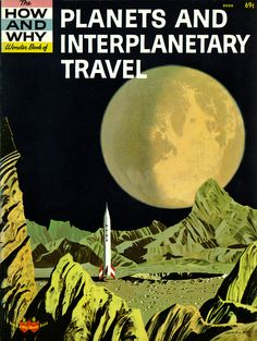 """""""planets and interplanetary travel"""" 1962"""
