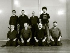 hoki ryu iaido - group photo
