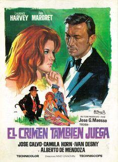 "El crimen también juega (1969) ""Rebus"" de Nino Zanchin - tt0063492 Terror Movies, Movie Posters, Janus, Crime, Film Posters, Film Poster, Billboard"