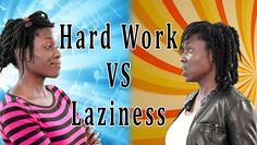 RAP BATTLE | Hard Work VS Laziness