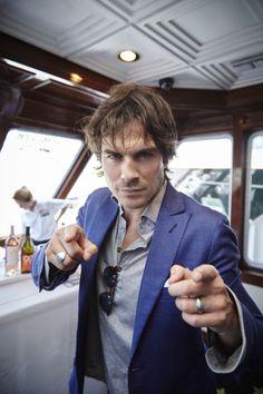 Ian Somerhalder - TV Guide Magazine's Comic-Con Yacht - July 11, 2015