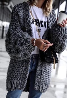 #winter #outfits  gray knit sweater #comfystyle #clubdresses