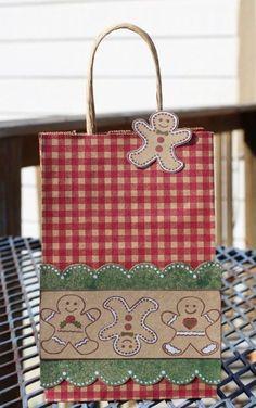 Super cute DIY gift bag handmade by our designer Tami Sanders