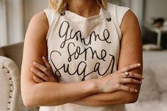 Baker/Chef portrait –gimme some sugar apron