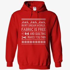 Christmas Quilting Hoodie