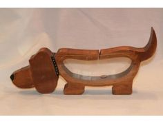 Cute Doxie Dachshund Bank with see through tummy. Just one of the items to bid on it the Furever Dachshund Rescue Auction starting Monday, November 12th. Come preview!