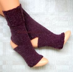 Cherry Red Hand Knitted Yoga Socks Dance Socks Knit Socks Flip Flop Socks Summer Socks Pilates Socks Pedicure Socks Feet Warmers Leg warmers Knit Mittens, Knitted Gloves, Knitting Socks, Hand Knitting, Knit Socks, Pedicure Socks, Pilates Socks, Flip Flop Socks, Dance Socks