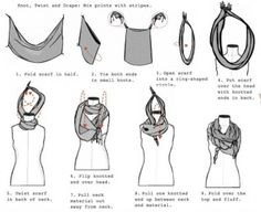 {how to tie a scarf}