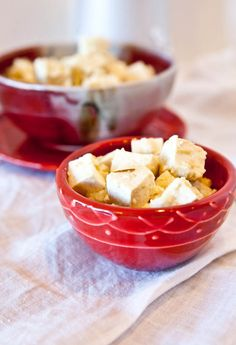 Salsa Verde Pepperjack Tofu - Great Microwave Recipes Ja Rule Will Forget to Include in His Cookbook Healthy Microwave Meals, Microwave Recipes, Tofu Recipes, High Protein Recipes, Healthy Recipes, Vegetarian Dinners, Vegetarian Recipes, Vegan Cookbook, Salsa Verde