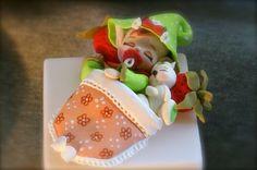 Lutin des fraises endormi! <3