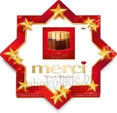 Шоколад-ассорти Мерси (звезда) | Merci Petits (Star) (250g)