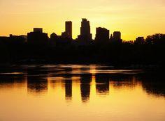 minneapolis skyline silhouette - Google Search
