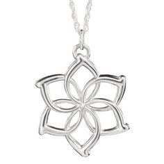 The Hobbit – Sterling Silver Galadriel Flower Necklace