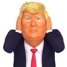 "Search Results for ""Trump"" – Dedipic Funny Animal Images, Funny Animals, Animals Images, Donald Trump Funny, Three Wise Monkeys, Trump Stickers, Trump Cartoons, We The People, Caricature"