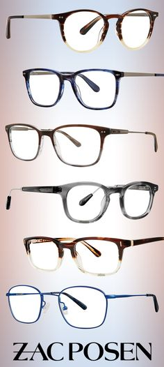 30a7a2638c Zac Posen Specs  Vintage Flair for Modern Gents