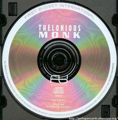 Thelonious Monk - Jazz Classics Including Evidence & Blue Monk CD EAN 5055039204122 - copertina - cover - tracks - brani - .....