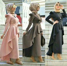 Nevsitare modanevin instagramda adresim.satıyorum.beklerim Hijab Dress Party, Hijab Style Dress, Hijab Chic, Dress Outfits, Islamic Fashion, Muslim Fashion, Modest Fashion, Abaya Fashion, Skirt Fashion