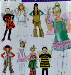 Simplicity Pattern 3654 Costumes Lady Bug by VintageNeedleFinds,