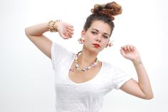 Merci à Juliette du blog Kitsch is my middle name / Top NAF NAF