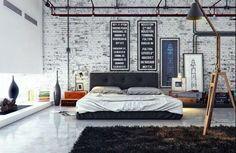 Decoration with Brick Wall #brickwall #decoration