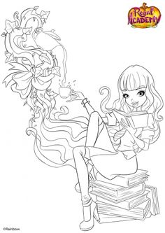 coloriage chica viro coloring page chica viro