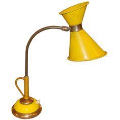 mathieu mategot 50s desk lamp