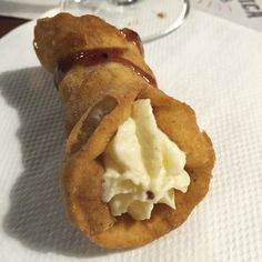 You know how it goes ... Leave the guns. Take the Cannoli. Always take the…