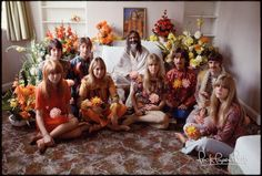 The Beatles, their Wives, and the Maharishi