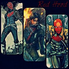 Red Hood/Jason Todd iPhone cases