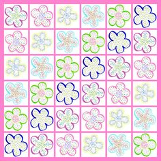 'Freckled Flowers Pattern I' - http://irina-sztukowski.artistwebsites.com/featured/freckled-flowers-pattern-i-irina-sztukowski.html