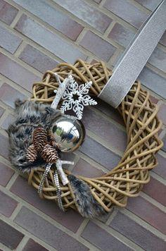 Grapevine Wreath, Grape Vines, Wreaths, Winter, Home Decor, Christmas Decorations, Winter Time, Decoration Home, Door Wreaths