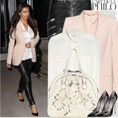 """Celebrity Look: Kim Kardashian"" by marymary91 on Polyvore"