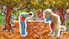 Hoela en Hoep zingen over de herfst en paddenstoelen in het bos.