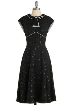 Every Dot of You Dress, #ModCloth #Partydress