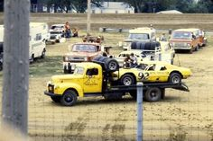 Toy Hauler Trailers, Rigs, Race Cars, Old School, Transportation, Racing, Trucks, History, Collector Cars