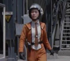 科学特捜隊の制服ファッション 青いブレザー - 華との邂逅