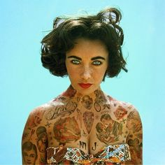 Shopped Tattoos. Liz