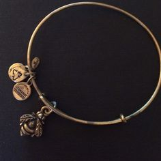 Alex and Ani - Bumble Bee, gold