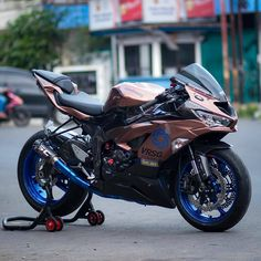 Ninja Motorcycle, Motorcycle Design, Honda Sport Bikes, Yamaha Cafe Racer, Dirtbikes, Kawasaki Ninja, Super Bikes, My Ride, Bike Life