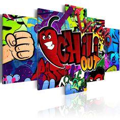 Obraz graffiti #graffiti #art #streetart #modern #sztuka #obraz