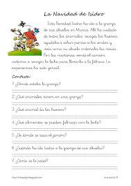 O Nadal de Isidro Este Nadal Isidro foi á granxa dos seus avós en Murcia. Murcia, Learning Sight Words, French Teacher, Early Childhood Education, Reading Activities, Learning Spanish, Reading Comprehension, Free Printables, Fails