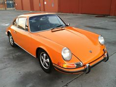 1970 Porsche 911 E (Signal Orange) - Pelican Parts Technical BBS